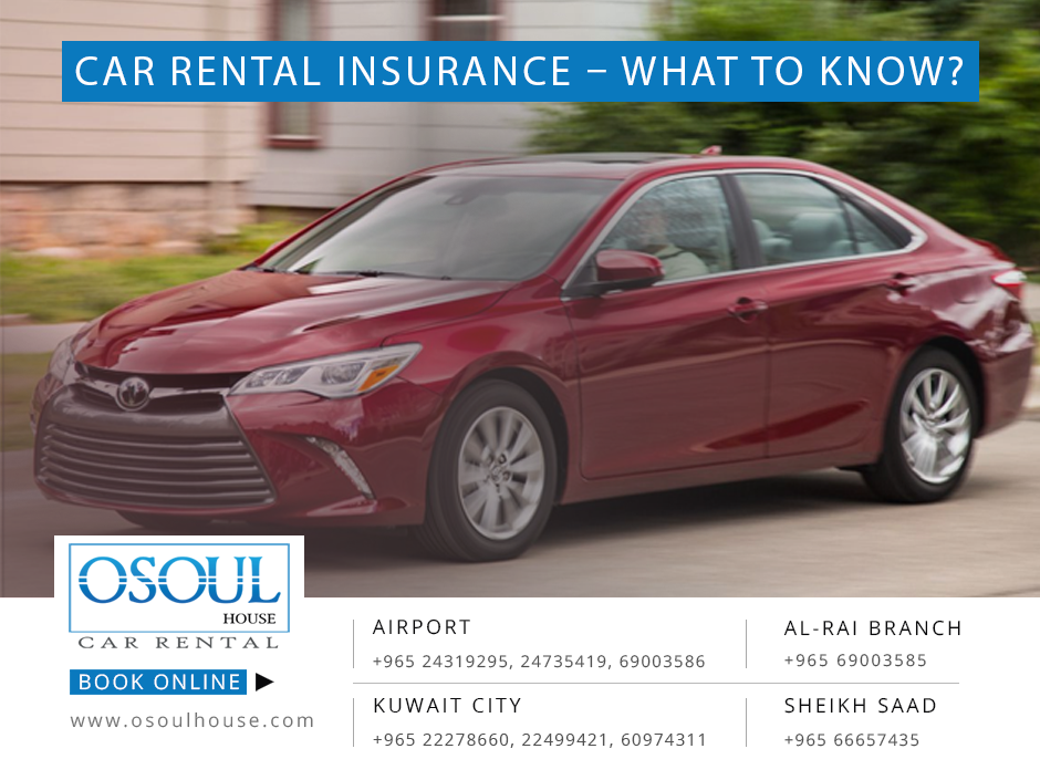 Rental Car Insurance: Car Rental Insurance - What To Know?
