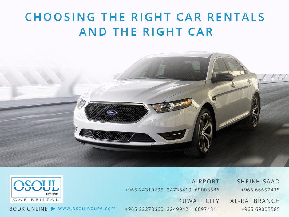 Choosing the right Car rental