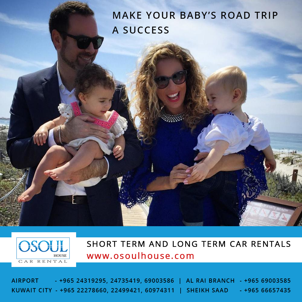 Make your baby's road trip a success