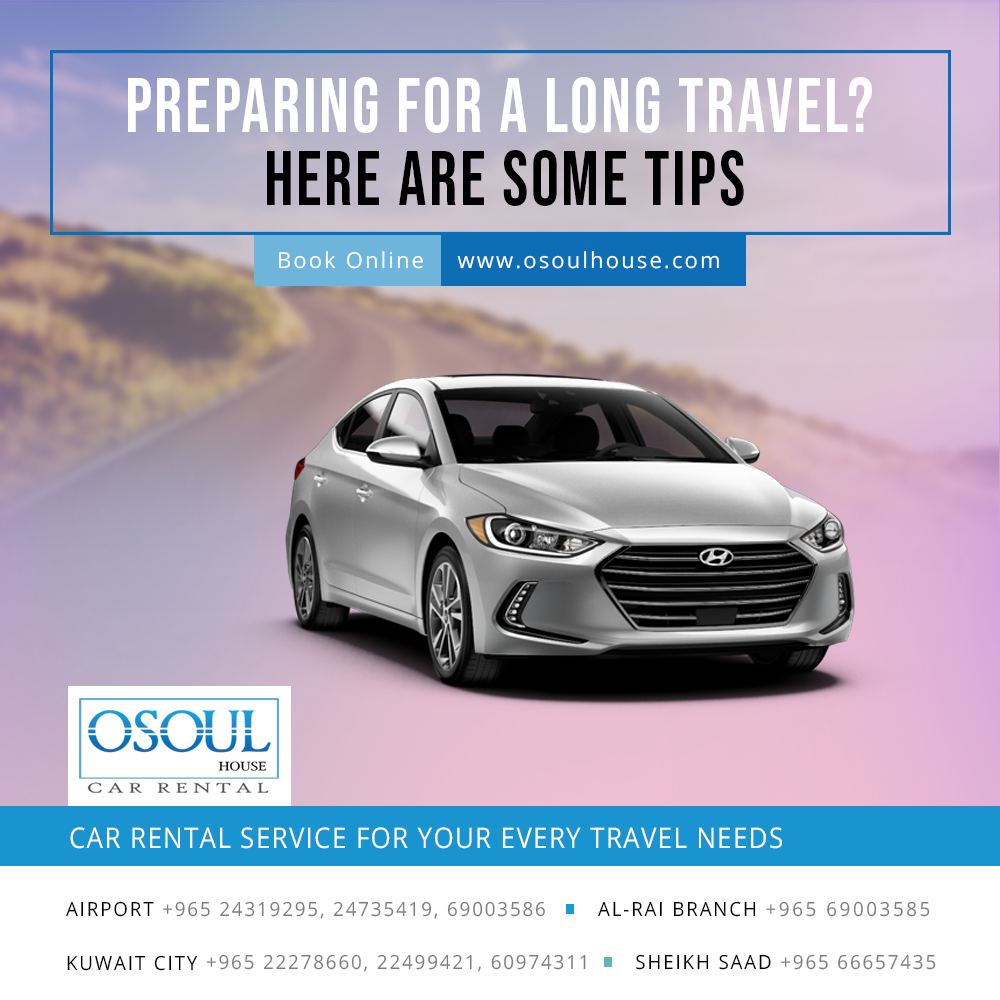 Preparing for a long Travel? Here are some tips