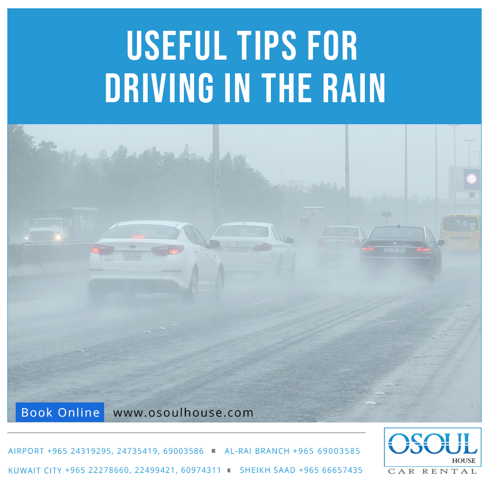 Useful Tips for Driving In the Rain