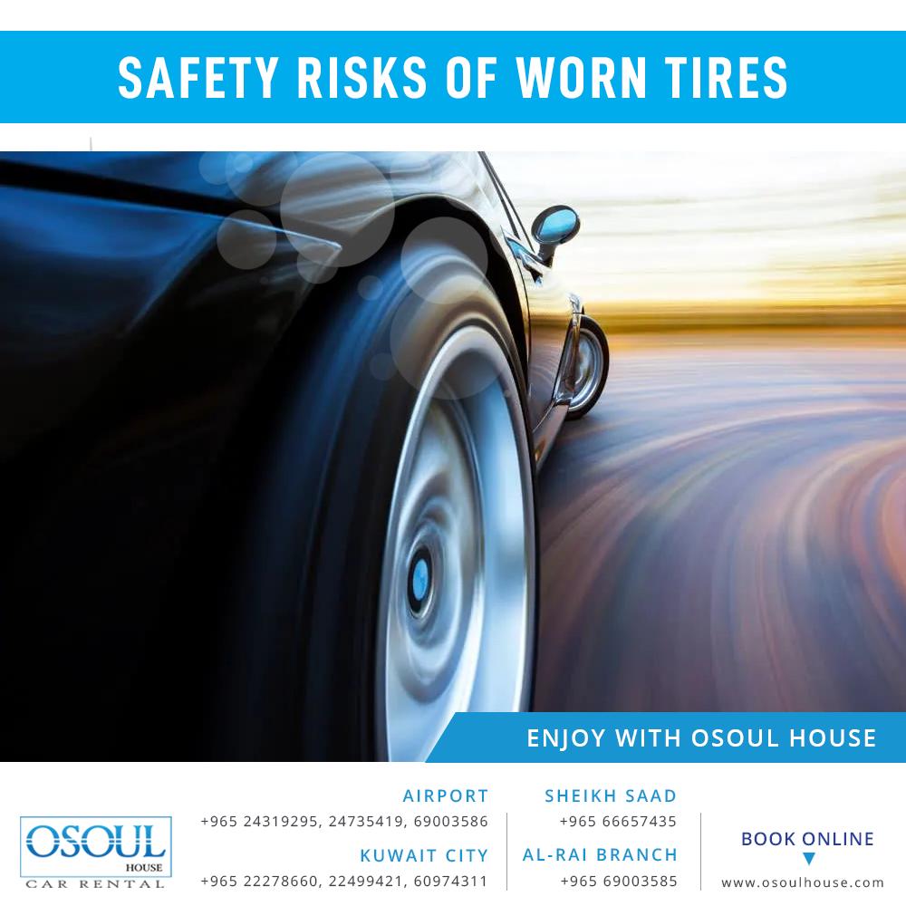 Safety Risks of Worn Tires