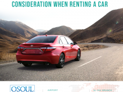 Some factors you need to take into consideration when renting a car