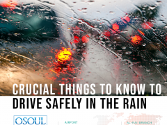 Crucial Things To Know to Drive Safely in the Rain