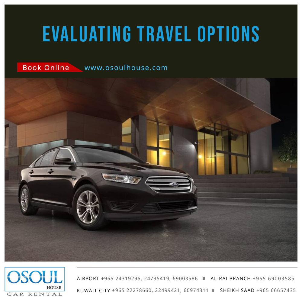 Evaluating Travel Options