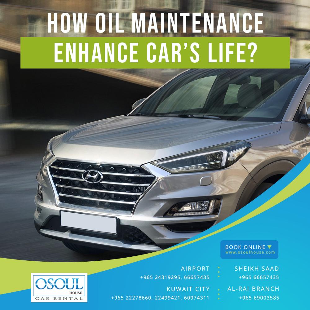 How oil maintenance enhance the cars life