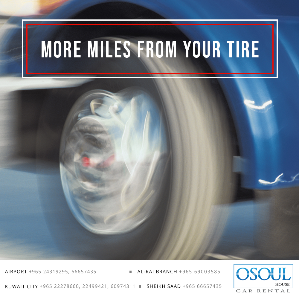 More Miles From Your Tire