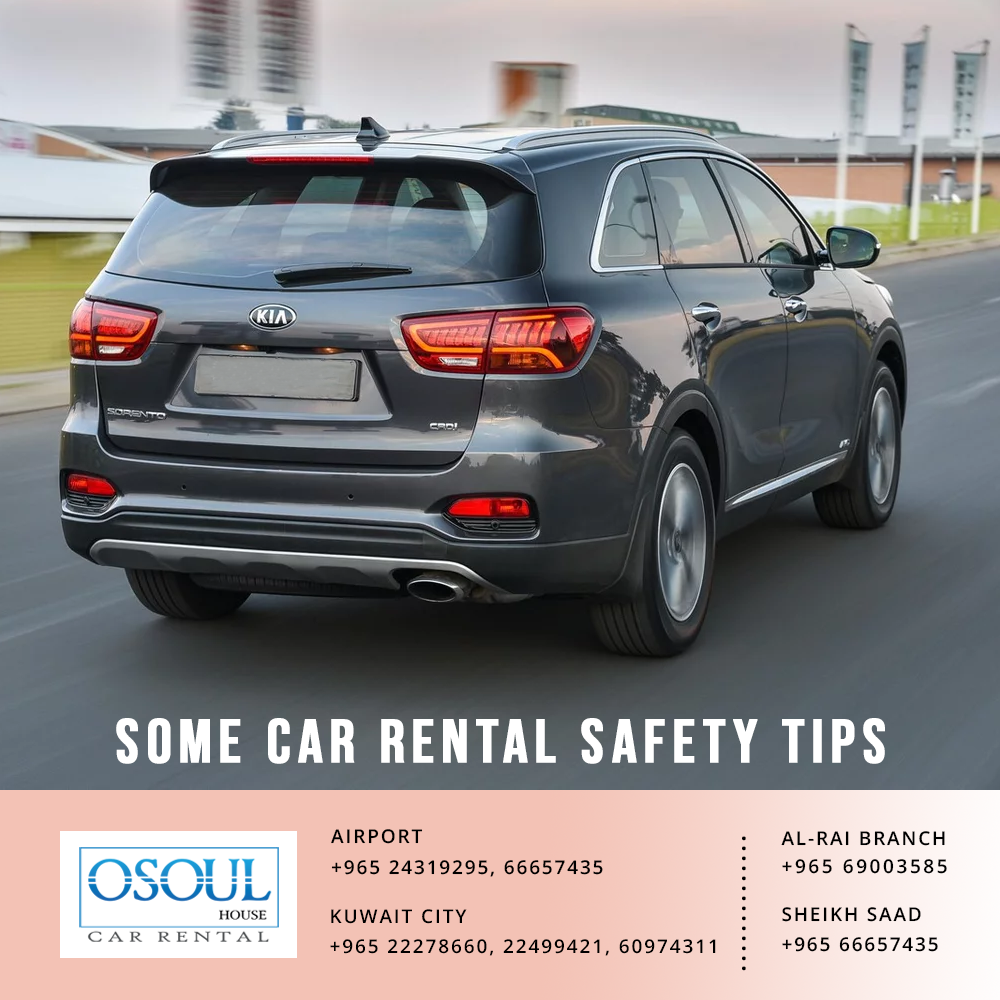 Some car rental safety tips