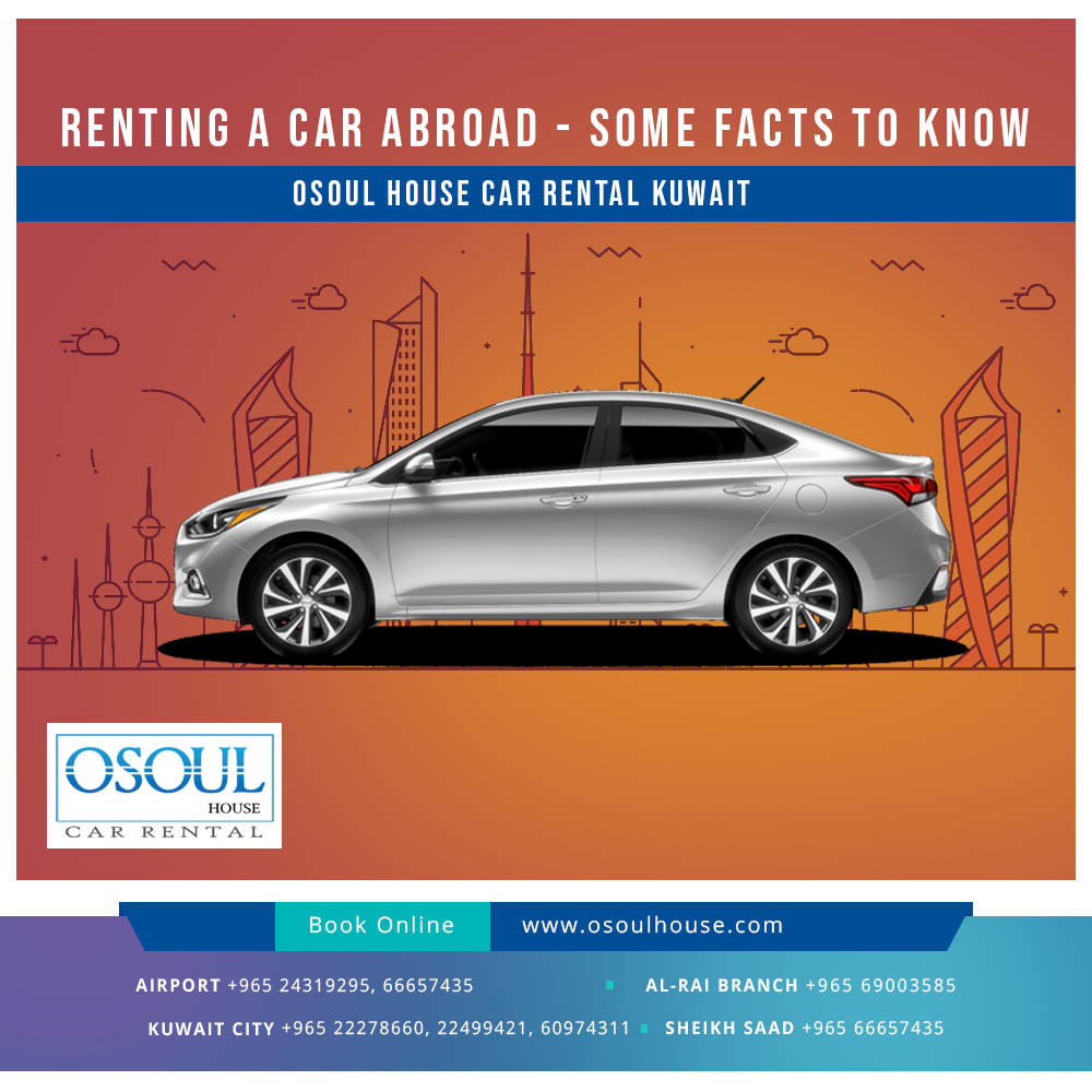 Renting a car abroad, some facts to know